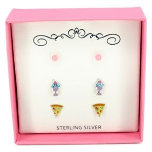 Sterling Silver Macy Children's 3-Pc. Set Enamel